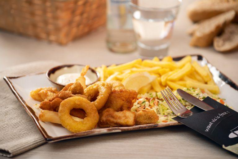 Vishandel Viswinkel Visscher Seafood Zwolle Vis Gemengde menu Viswinkel Vishandel