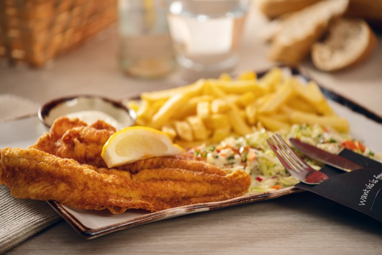 Vishandel Viswinkel Visscher Seafood Zwolle Sfeer Menu Kabeljauw