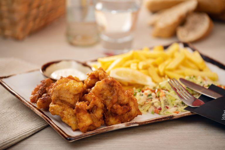 Vishandel Viswinkel Visscher Seafood Zwolle Sfeer menu kibbeling