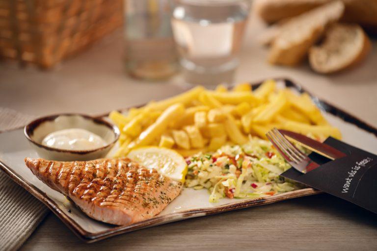 Vishandel Viswinkel Visscher Seafood Zwolle vis Sfeer Menu Zalm