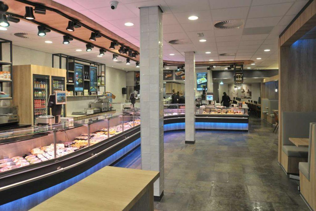 Vishandel Viswinkel Visscher Seafood Zwolle winkel foto