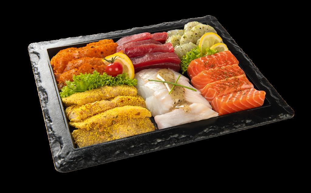 Vishandel Visscher Seafood Zwolle vis visspecialiteiten Visschalen Gourmetschaal