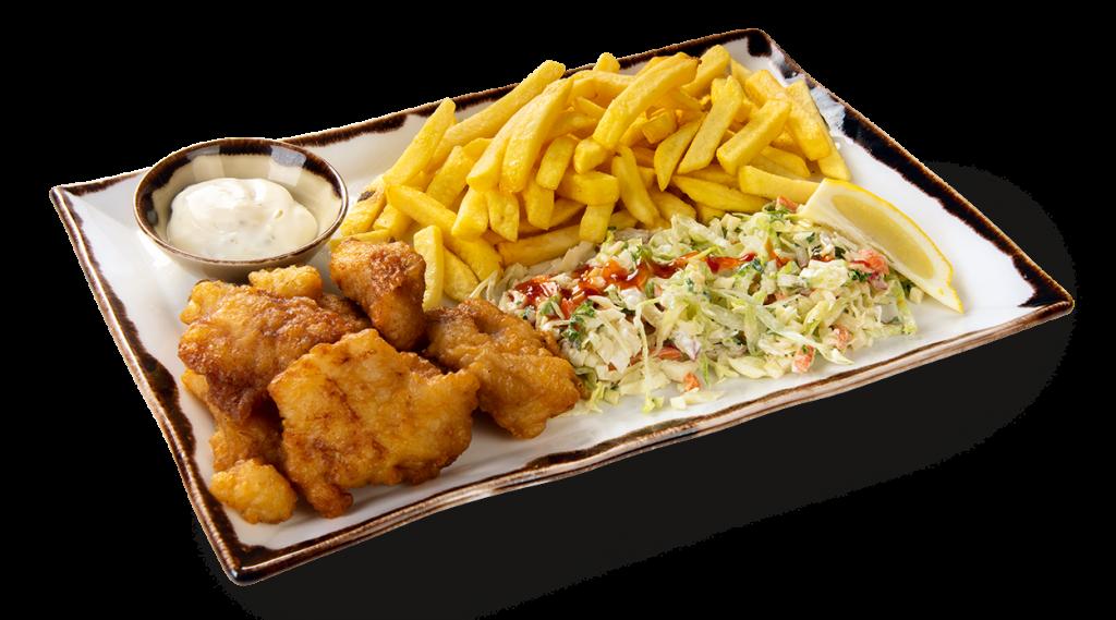 Vishandel Visscher Seafood Zwolle vis visspecialiteiten Menu Kibbeling
