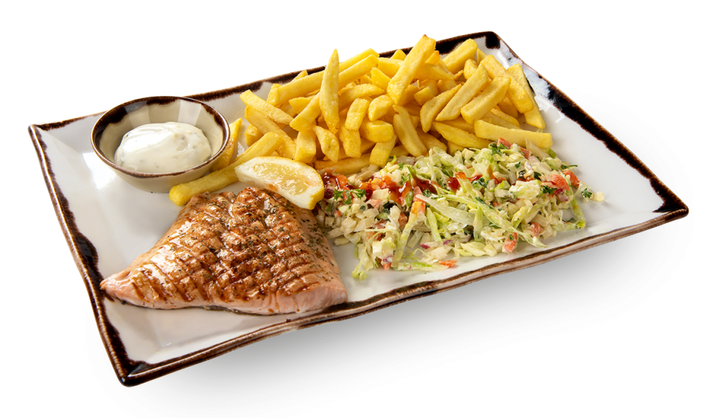 Vishandel Visscher Seafood Zwolle vis visspecialiteiten Menu Zalm