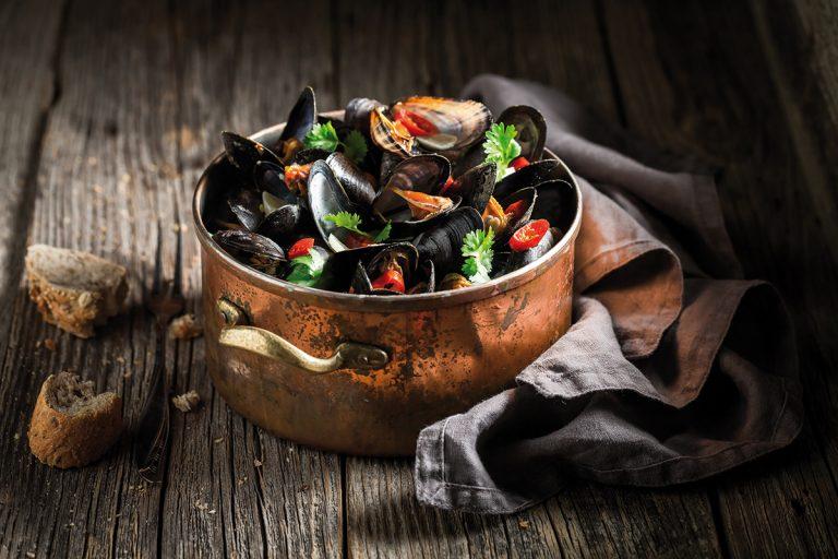 Vishandel Viswinkel Visscher Seafood Zwolle mosselpan vis