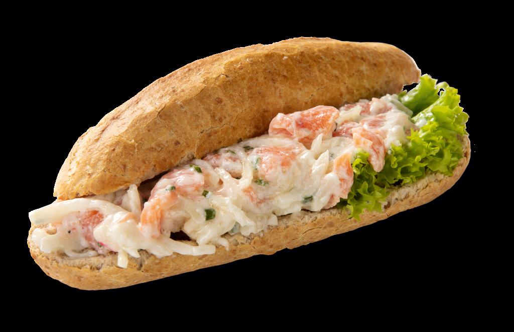 Vishandel Visscher Seafood Zwolle vis visspecialiteiten Pistolet Broodje Zalm Salade