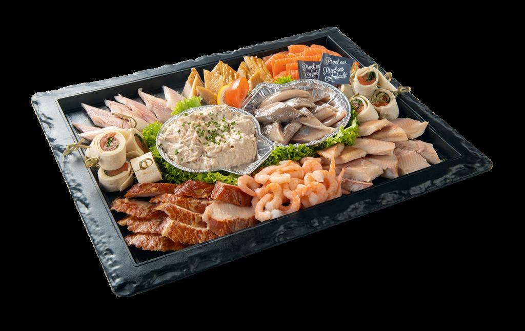 Vishandel Visscher Seafood Zwolle vis visspecialiteiten Visschaal Visschotel