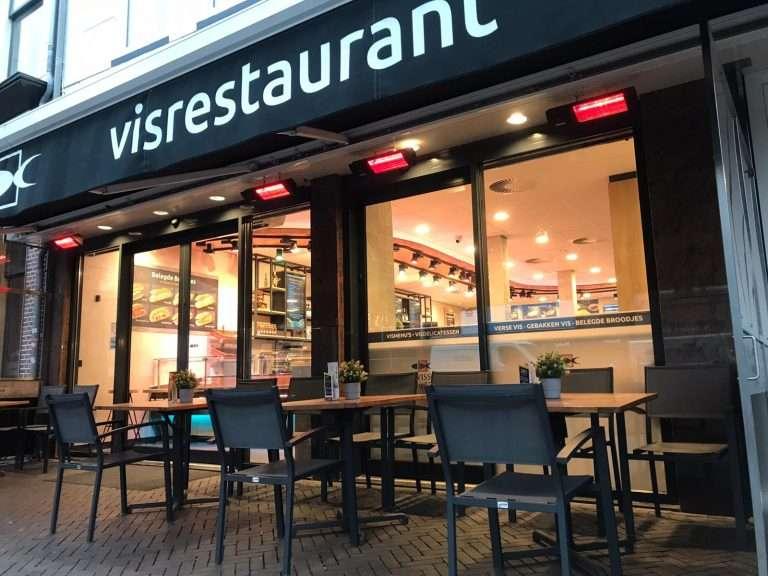 Vishandel Viswinkel Visscher Seafood Zwolle terrasverwarmers foto
