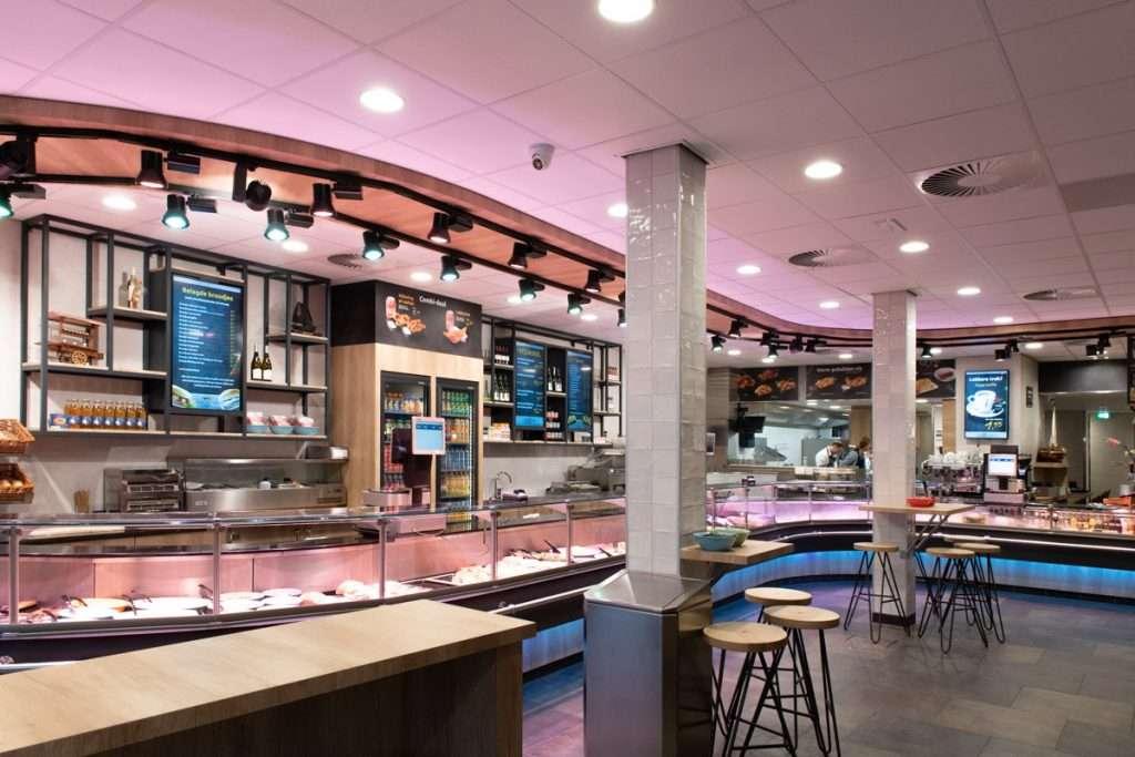 Vishandel Viswinkel Visscher Seafood Zwolle vis toonbank assortiment
